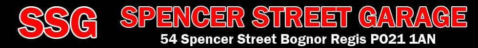 Spencer Street Garage Logo